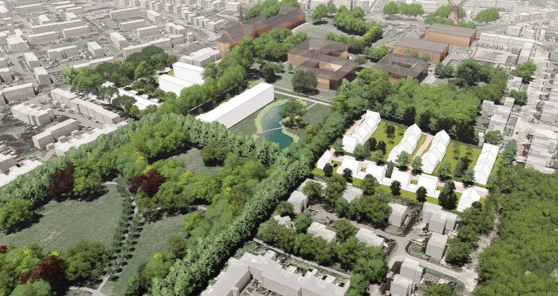 Bouwplannen bij Kloostervelden